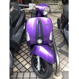 KYMCO 光陽 MANY110 水鑽版 201109出廠 紫色 現金價36000元