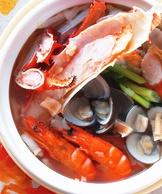 豪華干貝海鮮鍋