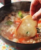 法式麵包蔬菜鍋