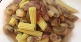 培根蘑菇玉米筍