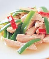 青椒炒雞柳