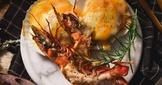 安仔神秘料理-起司扇貝佐蒜味奶油蝦