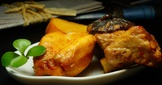 鮑魚燜豬肉