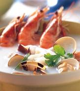 椰奶海鮮湯