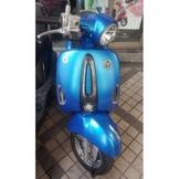 【正鼎車業-小翰】光陽KYMCO Many110 藍 2014/11 現金售價:42999 可分期購車
