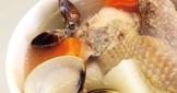 【家樂福食譜】蛤蜊結頭菜雞湯