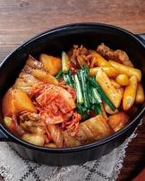 韓式泡菜馬鈴薯年糕燉肉