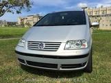 VW SHARAN 2.8 V6 銀色黑內裝頂級七人座MPV【澄湖】