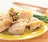 韭菜花水餃