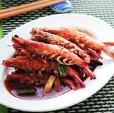 沙嗲草蝦串