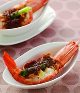 沙茶蔥燒蝦