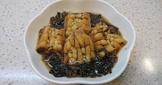 梅干菜滷白玉苦瓜