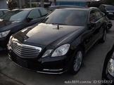 【實價、薄利多銷】11年出廠,12年掛牌,賓士E200黑色,中賓總代理,車美如新