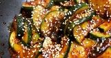 辣炒西葫蘆/櫛瓜 (素-韓式小菜)