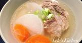 【電鍋料理】蘿蔔排骨湯