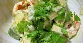 清新萊姆酪梨蝦仁沙拉