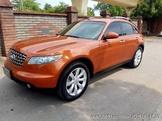 自售 INFINITI FX35  2003年 橙黃色