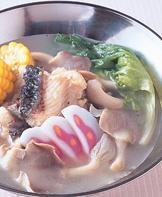 鮮魚鮑菇鍋