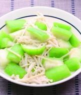 金針菇炒絲瓜
