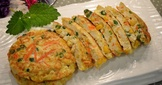 豆腐蔬菜蛋餅