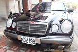 慶來汽車 97年 BENZ E230 2.3cc 黑色 總代理