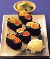 魚卵小壽司
