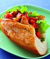 泰式酸辣豬肉三明治