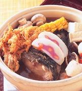 沙茶魚頭鍋(1)