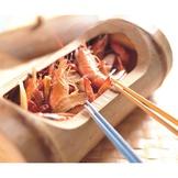 竹筒燒酒蝦