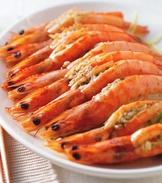 奶油蒜泥蒸鮮蝦