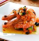 香煎黑豆明蝦