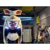 2014 Yamaha 新勁戰三代 GMS合法大燈