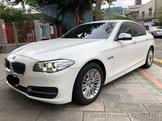 自售 寶馬 2014出廠 BMW F10 520D LCI 小改款 柴油 白色