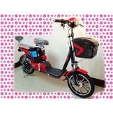 綠馳電動車E-Bike- AED2 (紅)-電動自行車/電動輔助自行車/電動機車/電動車