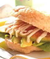 水果貝果三明治