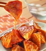 拔絲芋頭(油水拔法)