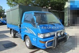 新帆布 篷式 ABS 得利卡DELICA 中華三菱 2噸半 汽油 小貨車 發財車