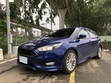 2017 1.5 FORD FOCUS 5D頂 藍色