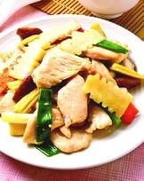 薑片炒雞肉