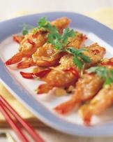 百花椒鹽蝦