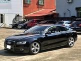 自售黑色低調轎跑OOOO奧迪A5-2.0T-QUATTRO四輪傳動可零頭款全額貸