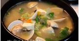 韓式大醬湯食譜(蛤蜊蔬菜版) 바지락된장찌개(Bajilag Doenjang Jjigae)