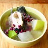 赤小豆冬瓜煲魚湯