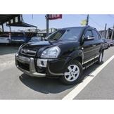 格瑞汽車-2008年/HYUNDAI/現代/TUCSON/2.0L/黑-中古車,二手,汽車,省油省稅