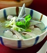 香菜虱目魚湯