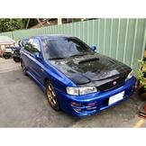 自售 2001 年Subaru Impreza GT GC8 硬皮鯊