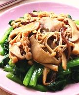 鮮菇拌青菜