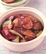 淡菜砂鍋雞
