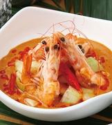 椰漿咖哩蝦