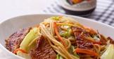【家樂福廚房】反浪費料理》用不完烤肉醬炒麵